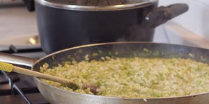 Risotto, Northern Italian Rice Dish Cooked in a Broth